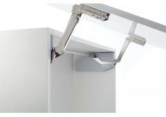 Подъемный механизм Free swing высота фасада / вес 370-500 / 1,9- 4,6 серые заглушки