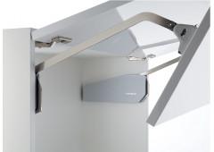 Подъемный механизм FREE FOLD F5fo высота фасада/ вес 650-730 мм / 9,5-19,7 кг. серые заглушки