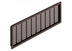 Вент.решетка 225х120мм, пластик коричневый