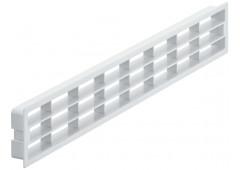 Вент.решетка 458х65мм, пластик белый