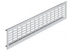 Вент.решетка 480х80мм, алюминий