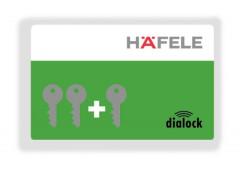 Ключ-карта программирующая Hafele Dialock