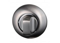 Комплект розеток Hafele под завертку WC, покрытие никель матовый