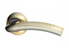 Комплект ручек Hafele Easy 4 для межкомнатных дверей, покрытие латунь полированная