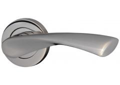 Комплект ручек Hafele Nice 3 для межкомнатных дверей с завертками WC, покрытие хром полированный