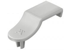 Фиксатор задней стенки RPC D 5/24, пластмасса, серый