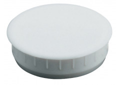 Заглушка пластик белый  35x10,0мм