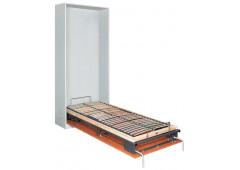 """Встраиваемая откидная кровать """"BETTLIFT"""" 44-55кг. размер решетки 900x2000мм, продольный монтаж, обрешетка из гнутоклееных планок в комплекте, (без матраца)"""