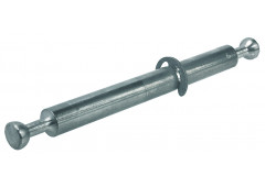"""Болт для двойного крепления """"Minifix Spezial"""" 34мм, д/отв. d=8мм, для плит 19мм. Сталь без покрытия"""