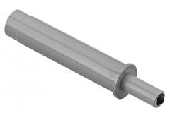 Дверной амортизатор d=10мм, L=64мм Серый. С воздушным демпфированием