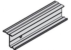 Ходовой профиль Slido Classic 35 VF S, алюминий, 2500 мм