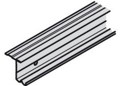 Ходовой профиль Slido Classic 50 VF S, алюминий, 2500 мм