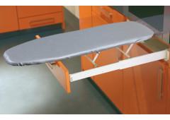 Гладильная доска выдвижная за лицевой панелью Hafele Ironfix, цвет алюминий