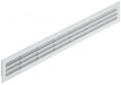 Вент.решетка 515х60мм, пластик белый