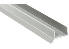 Цокольный профиль с уплотн. манжетой L=2,5м. Коричн. д/плиты 16 мм.