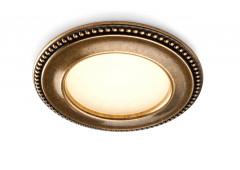 Светильник CLASSIC AKOYA 12V/3,4Вт, античное золото