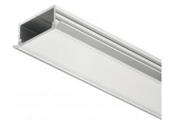 Профиль алю. серебро. 2500mm