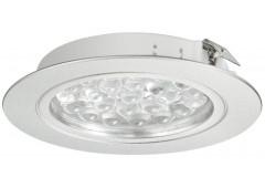 Светильник LED модель 3001 24V/1,7W теп. бел алю.