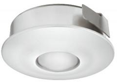 Светильник LED модель 4005 350mA/1W теп. бел серебрист. D=30mm