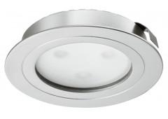 Светильник LED модель 4009 350mA/3W теп. бел никель.