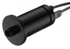Кнопочный выключатель пластик черн.