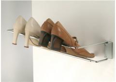 Держатель обуви, ширина 460-750 мм, сталь хром