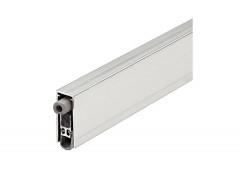 Автоматический дверной выдвижной уплотнитель Athmer для защиты от шума, алюм./силикон серый, 630мм