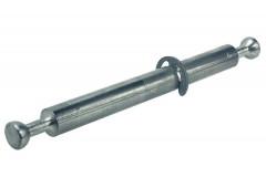Двойной болт со стопорным кольцом для MINIFIX 8/2х34мм для 16 плиты