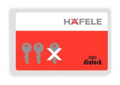 Ключ-карта стирающая Hafele Dialock