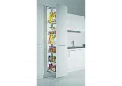 Комплект направляющих рамы Hafele Cristal, для ширины шкафа 150-200 мм