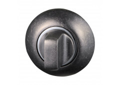 Комплект розеток Hafele под завертку WC, покрытие антик железо