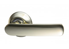 Комплект ручек Hafele Easy 2 для межкомнатных дверей, покрытие латунь полированная