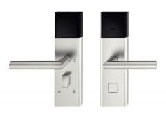 Комплект терминала Hafele Dialock DT700 ручка J, нержавеющая сталь матовая