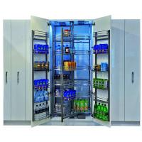 """Комплект выдвижной колонны """"Шеф-повар"""" Hafele Cristal, в базу 900 мм, высота 1200-1500 мм, 24 корзины"""