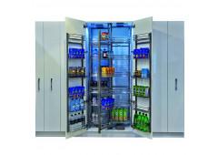 """Комплект выдвижной колонны """"Шеф-повар"""" Hafele Cristal, в базу 900 мм, высота 1900-2200 мм, 36 корзины"""