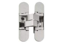 Петля врезная Hafele Startec, 40 кг, толщина двери от 35 мм, 110 мм, покрытие никель матовый