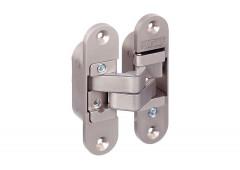 Петля врезная Hafele Startec, 70-105 кг, толщина двери от 40 мм, левая, никель полированный