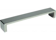 "Ручка мебельная Hafele ""Модерн"", алюминий/ нерж. сталь матовая, 135х128х25мм"