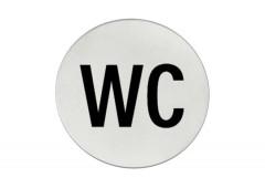 Символ дверной Hafele Startec «Туалет», 75 мм