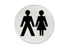Символ дверной Hafele Startec «Женщины/мужчины», 75 мм
