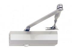 Верхний дверной доводчик – Hafele StarTec  DCL 80   с рычажной без фиксатора  , серебр. Лак