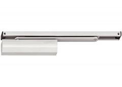 Верхний дверной доводчик – Hafele StarTec  DCL 84   со скользящей тягой  с фиксатором ,  серебристый